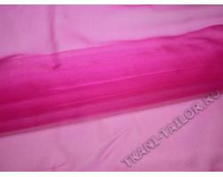 Органза ярко-розовая