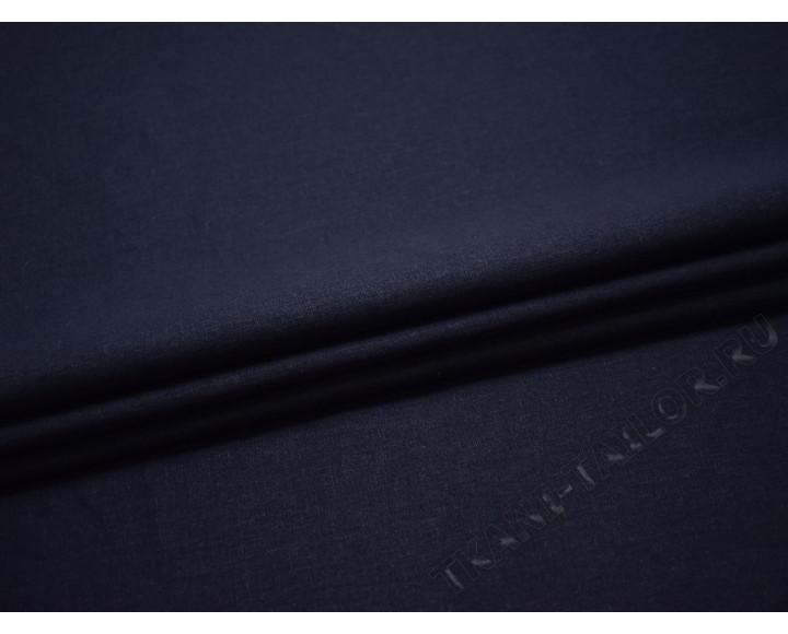 Лен темно-синий