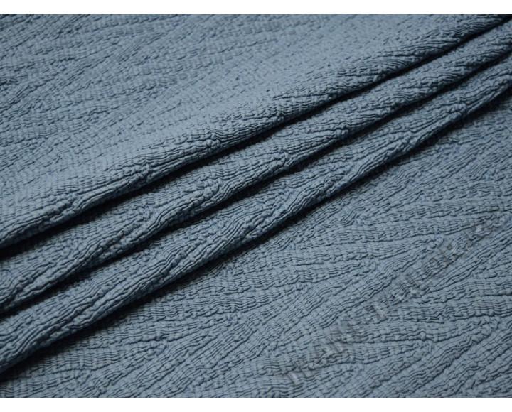 Курточная серо-голубая