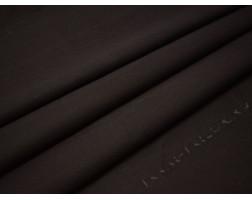 Джинсовая темно-коричневая ткань