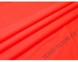 Джинсовая ткань ярко-оранжевая