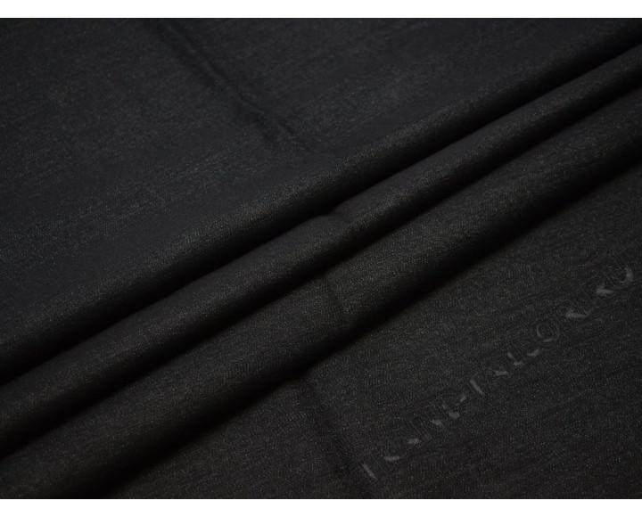 Джинсовая ткань темно-серая стрейч
