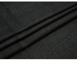 Джинсовая ткань темно-серого цвета
