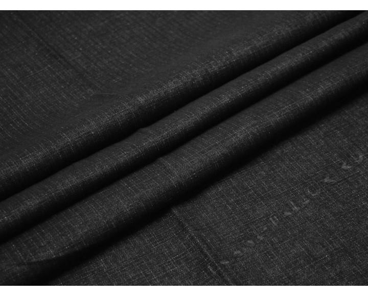 Джинсовая ткань темно серая клетка