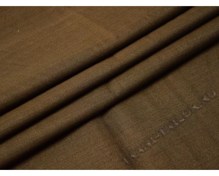 Джинсовая ткань коричневая