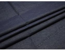 Джинсовая ткань темно-синяя