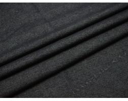 Джинсовая ткань темно-серая тонкий стрейч