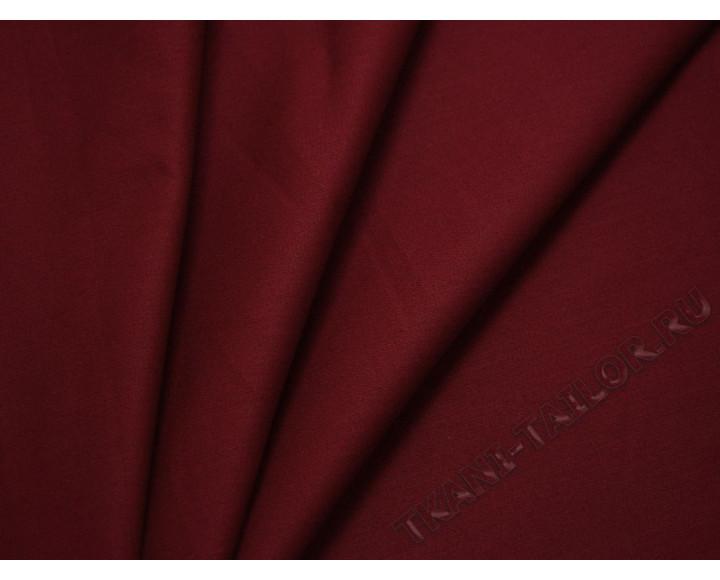 Джинсовая ткань бордовая