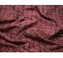 Жаккард бордовый с абстрактным рисунком