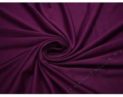 Трикотаж  джерси темно-фиолетовый