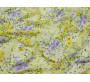 Шифон айвори с цветочным принтом