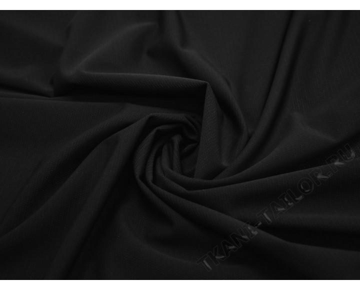 Бифлекс матовый черный фактурная полоска