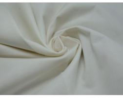 Трикотаж Футер белого цвета