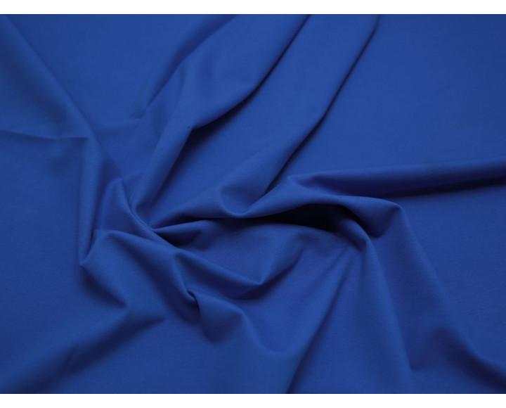Трикотаж джерси ярко-синий