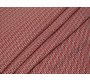 Костюмная ткань стрейч красно-белый принт