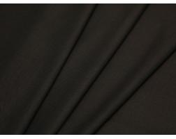 Костюмная ткань хлопковая коричневая принт елочка