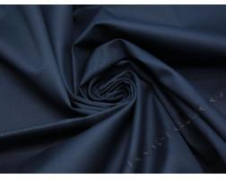 Костюмная ткань чернично-синего цвета