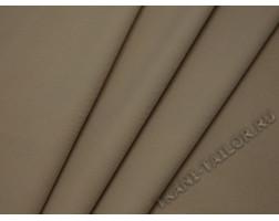 Костюмная ткань песочно-бежевого цвета