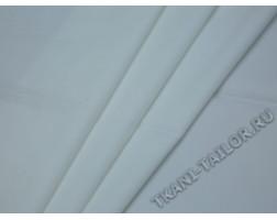 Костюмная ткань молочно-белого цвета