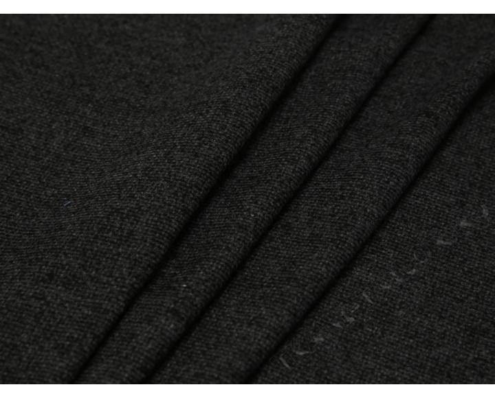 Костюмная ткань темно-серого цвета