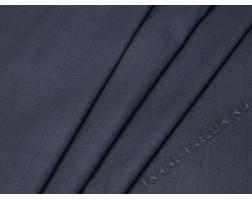 Костюмная ткань серо-синяя