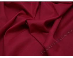 Костюмная ткань красная тонкая