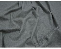 Костюмная ткань шерстяная серого цвета