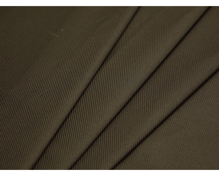 Костюмная ткань в рубчик цвета хаки