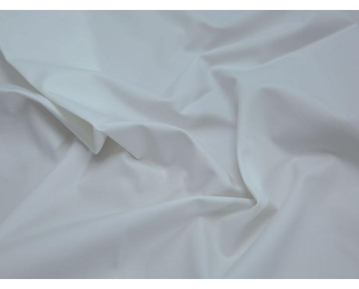 Костюмная ткань тонкая белая 210 г/м2 купить недорого по оптовой цене в интернет-магазине