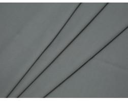 Костюмная ткань в рубчик серая