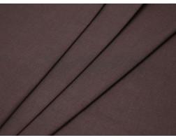 Костюмная ткань хлопковая бежево-бордовая
