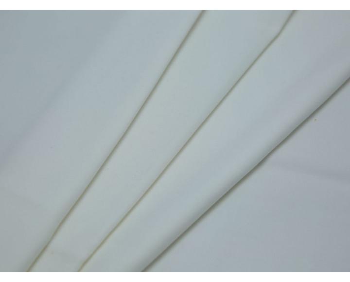Костюмная ткань хлопковая молочно-белая