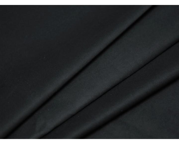 Костюмная ткань плотная черная