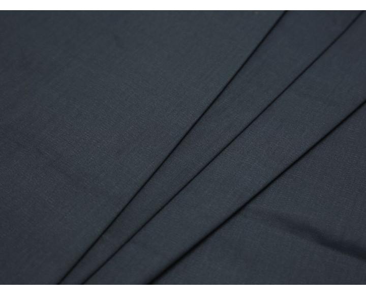 Костюмная ткань хлопковая серого цвета
