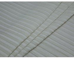 Костюмная ткань летняя фактурная полоска