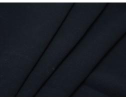 Костюмная ткань шерстяная темно-синяя