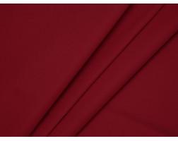 Костюмная ткань хлопковая красная