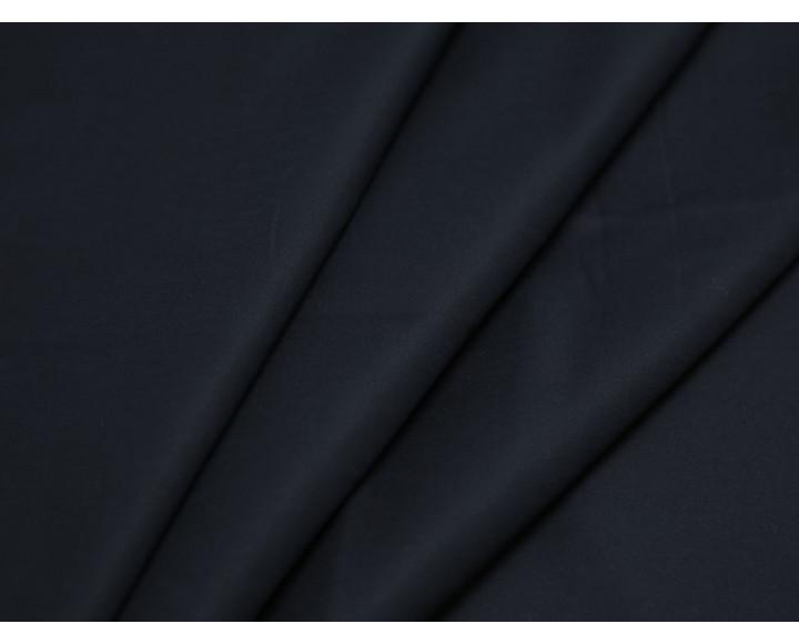 Костюмная ткань темно-синего цвета
