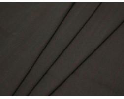 Костюмная ткань хлопковая коричневая полоска