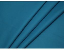 Костюмная ткань хлопковая сине-голубая
