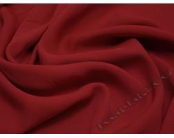 Плательная ткань вискозная красная