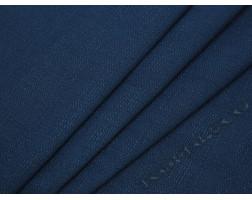 Плательная ткань шерстяная синяя