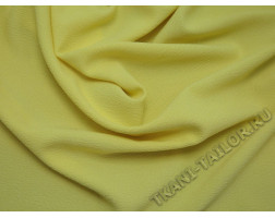 Плательная ткань светло-желтая
