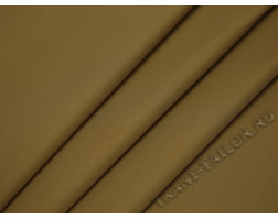 Плательная ткань хлопковая горчичного цвета