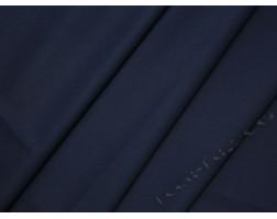 Плательная ткань тонкая темно-синяя