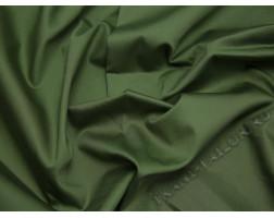 Плательная ткань хлопковая зеленая