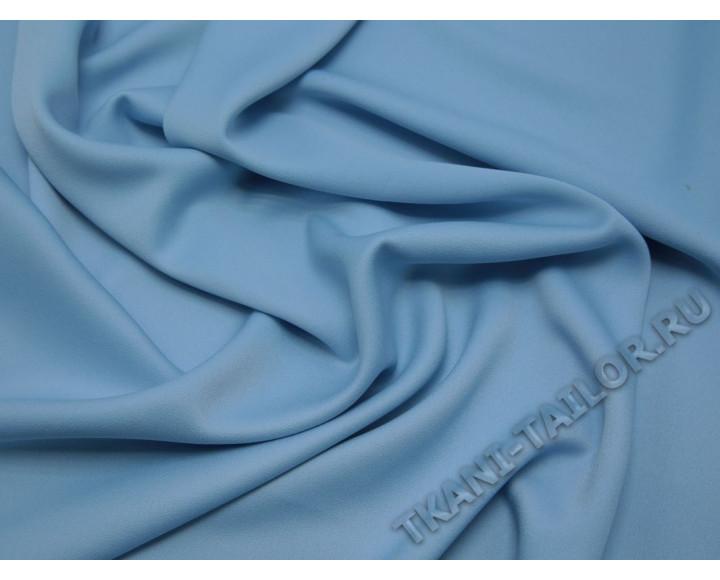 Плательная ткань светло-голубая