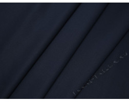 Плательная ткань тонкая темно-синего цвета