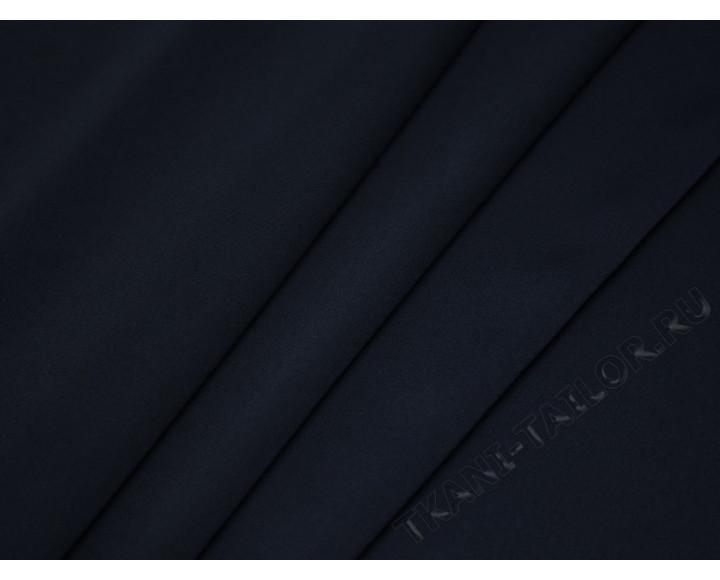 Плательная ткань серо-синяя