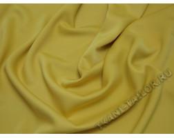 Плательная ткань желтая